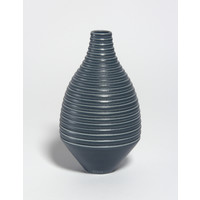 Matt Grey Grooved Bottle [18-73]