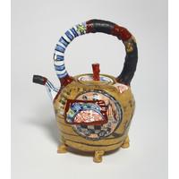 Yobitsugi Style Tea Pot (Large) [22781]