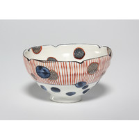 Tricoloured Tea Bowl [22793]