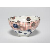 Tricoloured Tea Bowl [22793]