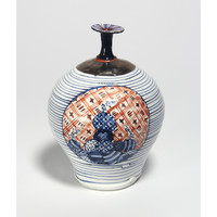 Tricoloured Vase
