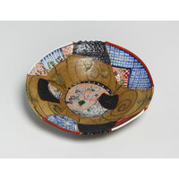 Yobitsugi Style Large Plate [23363]