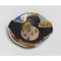 Yobitsugi Style Large Plate [23364]