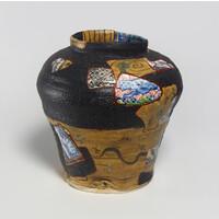 Yobitsugi Style Large Vase [23365]