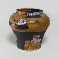 Yobitsugi Style Large Vase [23366]