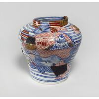 Yobitsugi Style Large Vase [23367]