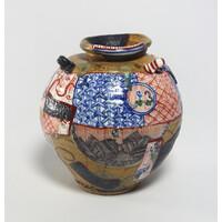 Yobitsugi Style Vase [23649]