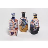 Yobitsugi Style Sake Bottle Set