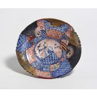 Yobitsugi Style Large Plate [6-2]