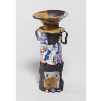 Yobitsugi Style Vase (with Ears) [14-1]