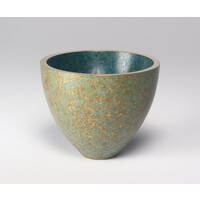 Patinated Bronze Crucible [24199]