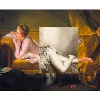 Resting Maiden (after Boucher)