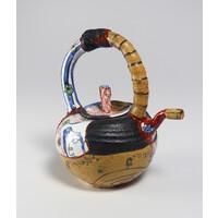 Yobitsugi Style Tea Pot [24539]
