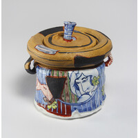 Yobitsugi Style Water Container [24546]